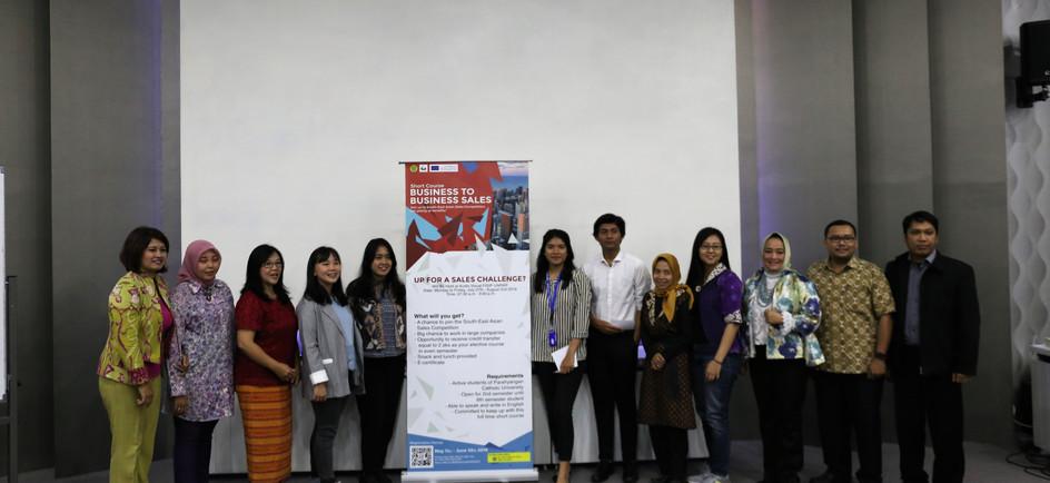 Sales Competition @Parahyangan University