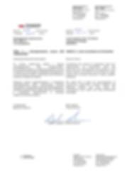 """Благодарственное письмо ООО """"Пром-Антикор"""" от компании CODEST"""