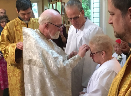 Sermon - At the Baptism of Fred and Vickie Friar