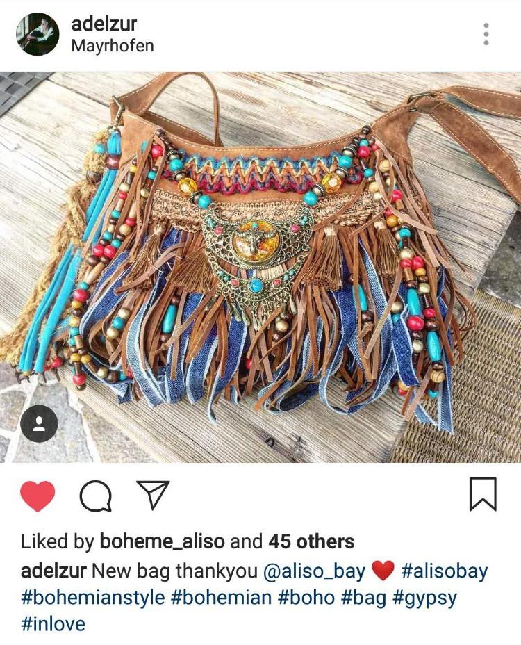 wild west bag, cowgirl purse, vegan hipp