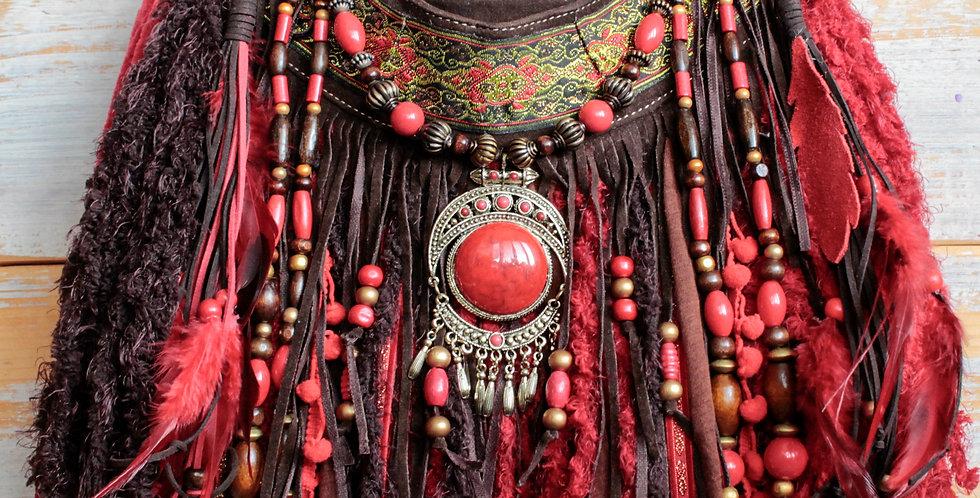 Cardinal Fringe Bag