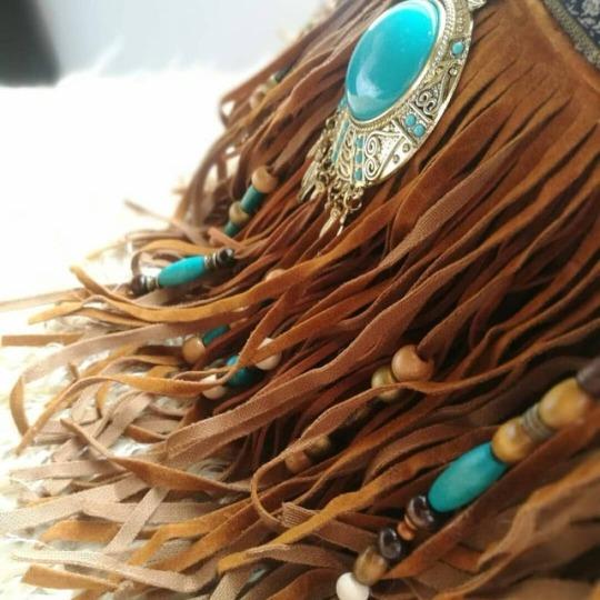 turquoise bohemian
