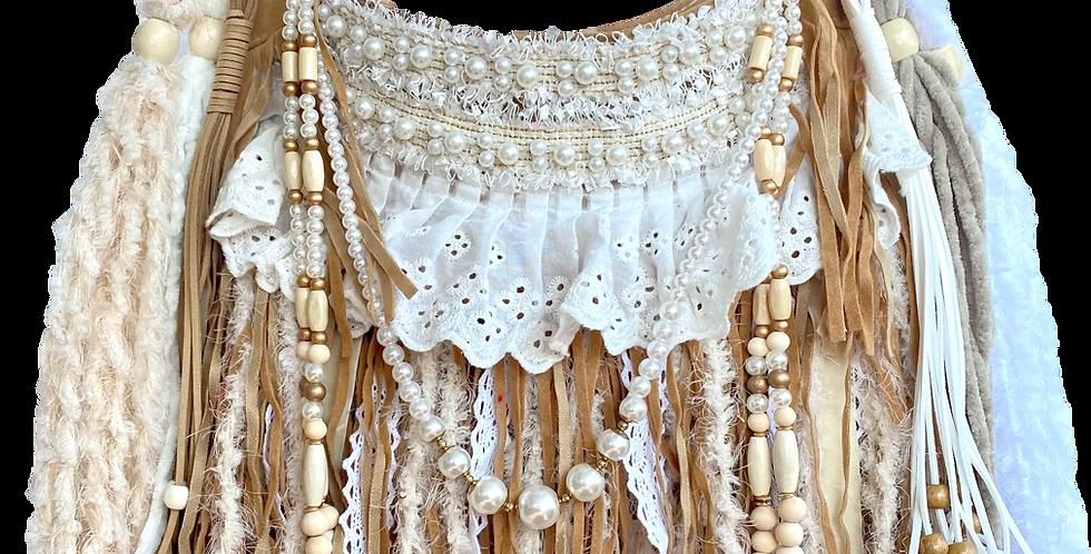 Pearl Fringe Bag
