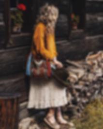 boho taska,boho kabelka