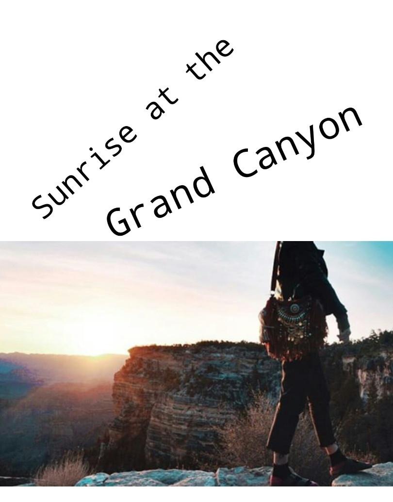 grand canyon sunset, alisobay boho bag,