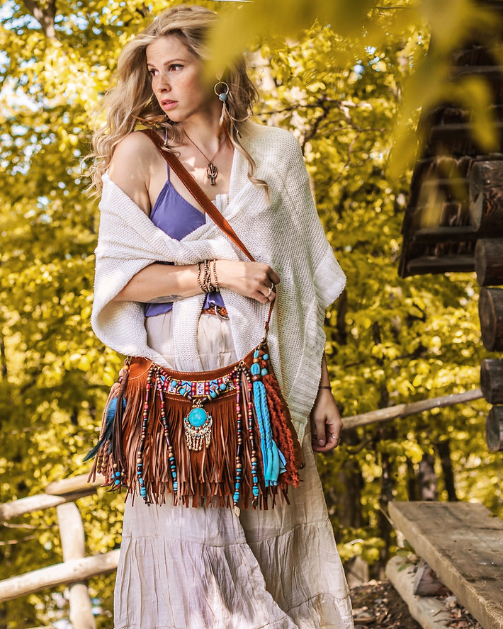 fall boho look, bojo jewelry