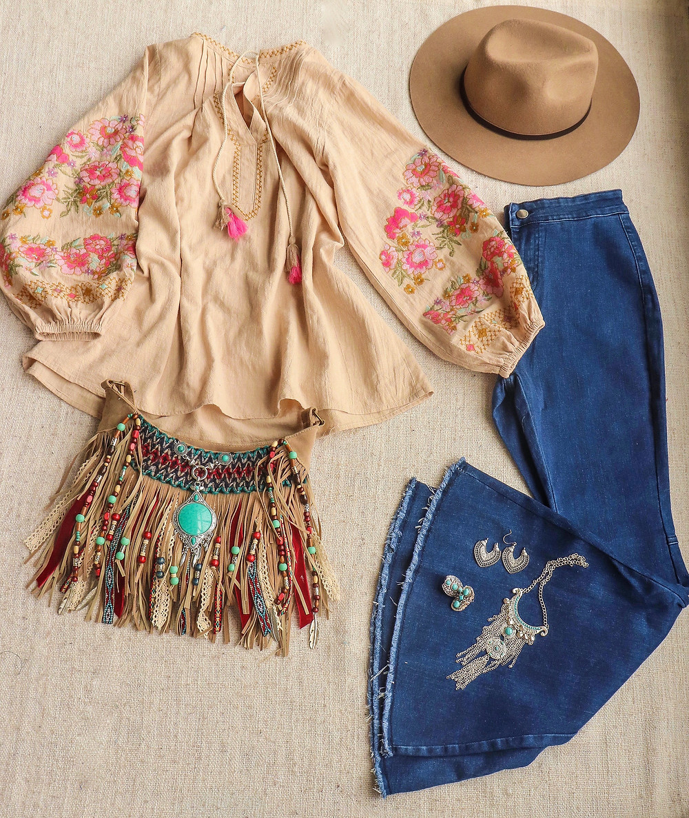 Festival outfit spell blouse alisobay purse