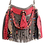 Thumbnail: Leather Fringe Bag in Gray