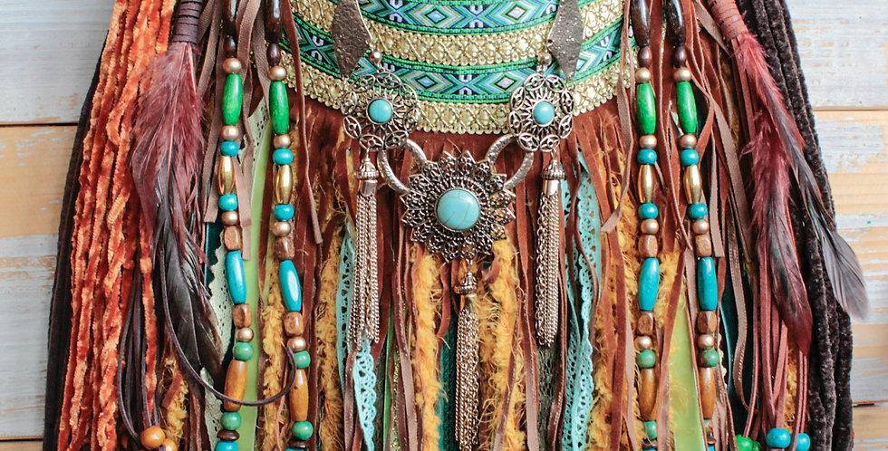 Jade Fringe Bag