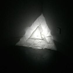 Triangle glow light