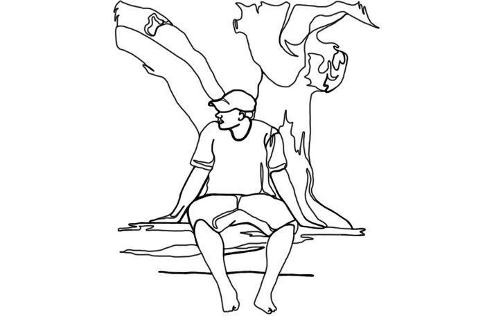 sittting
