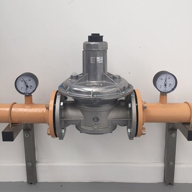 Commercial gas pipework testing