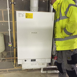 Swimming pool boiler service