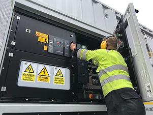 Temporary generators in Yorkshire Dynami