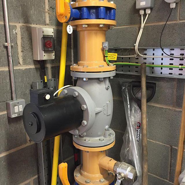 Gas pipework testing Leeds