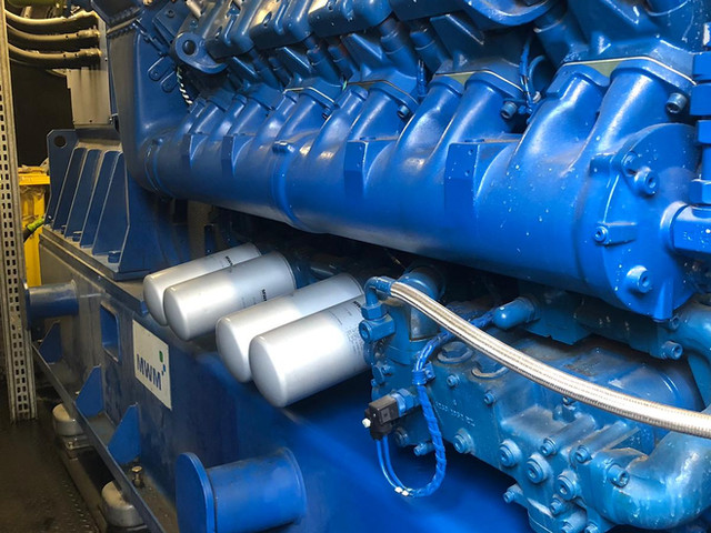 Dynamic mechanical services ltd. MWM gas engine inspection in Yorkshire