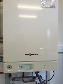 Boiler installation, Viessmann