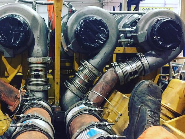 Dynamic Mechanical Services Ltd. | CAT 3516 engine repair turbos
