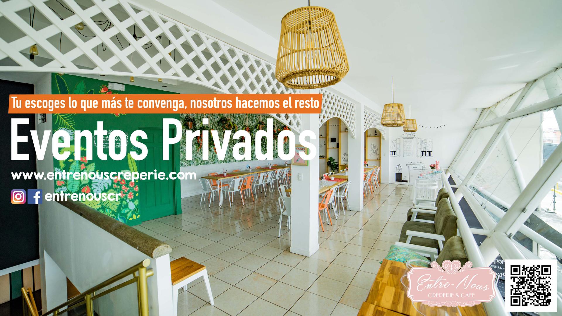Eventos privados Entre Nous