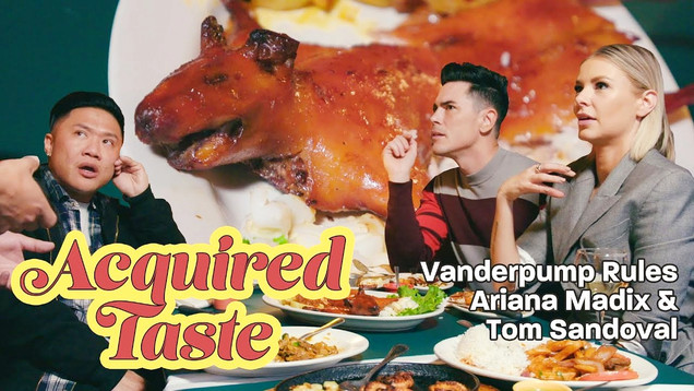 Acquired Taste - Tom Sandoval and Ariana Madix try Guinea Pig