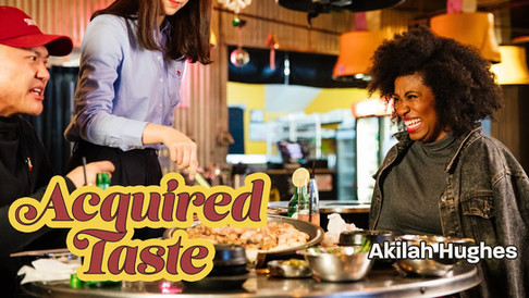 Acquired Taste - Akilah Hughes Eat Cow Intestines
