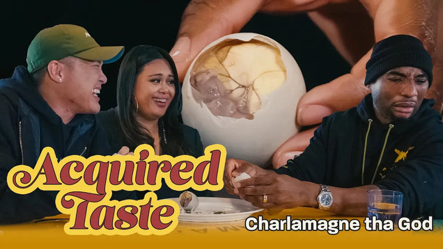 Acquired Taste: Charlamagne Tha God Tries Fertilized Duck Egg