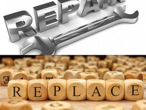 When to Repair & When to Replace