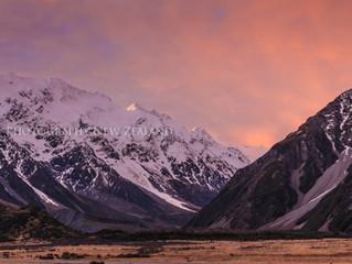 《霍比特人》三部曲之库克山国家公园(Aoraki/Mount Cook National Park)