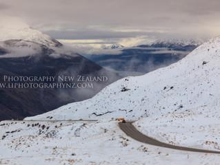 冬季在新西兰自驾 - 那些优美的山间公路