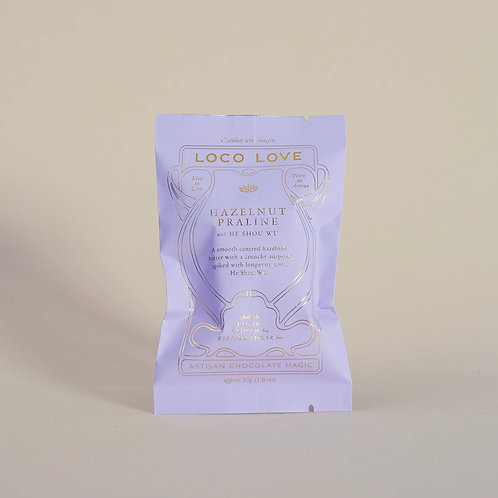Loco Love Chocolate - Hazelnut Praline