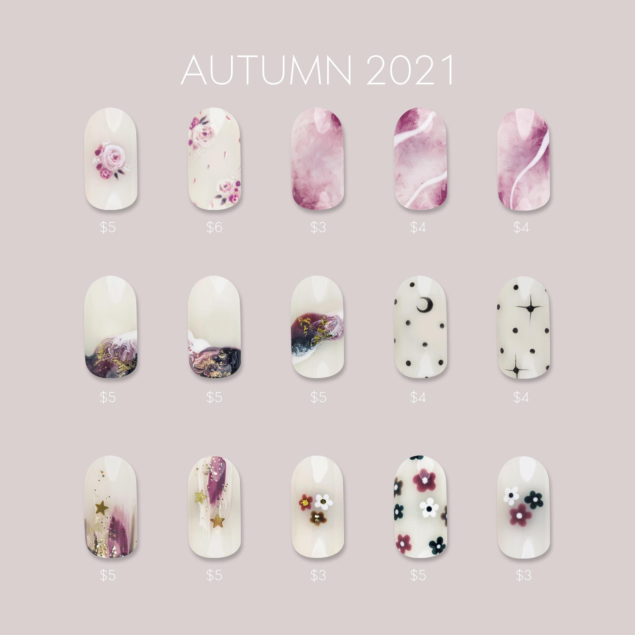 Autumn 2021 Menu