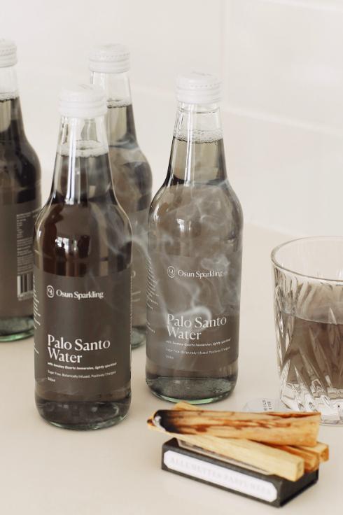 Osun Sparkling Palo Santo Water