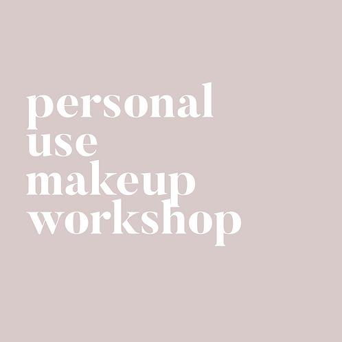 Personal Use Makeup Workshop