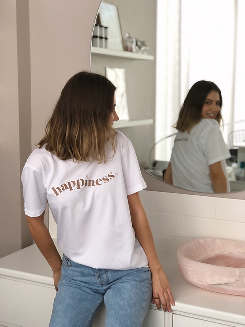 HAPPINESS Tee - PRE ORDER
