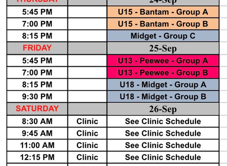 Phase 1 Schedule -week 1