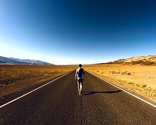 Caminhando na estrada