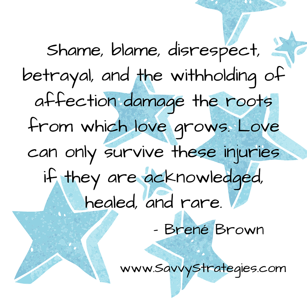 Brene Brown Love Quote Relationship Damage