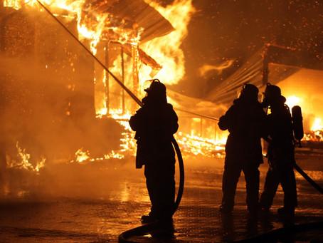 So kommt die Feuerwehr …