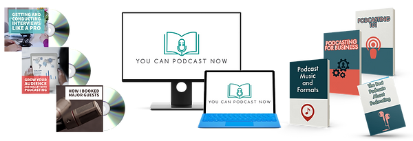 podcast course - You Can Podcast Now