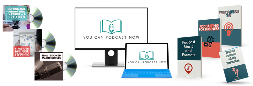 You Can Podcast Now - podcast course