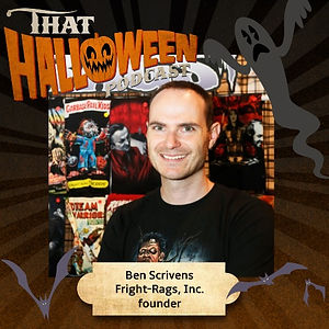 Ben Scrivens - Fright Rags