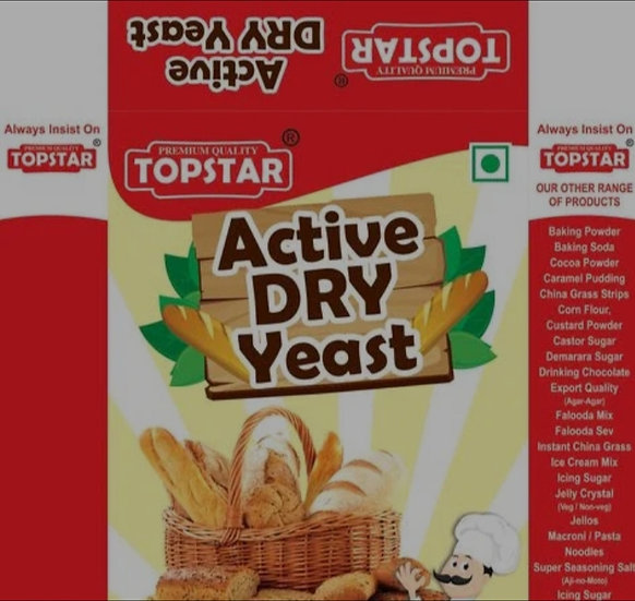 Yeast Active Dry, 25gm x 5 Pack
