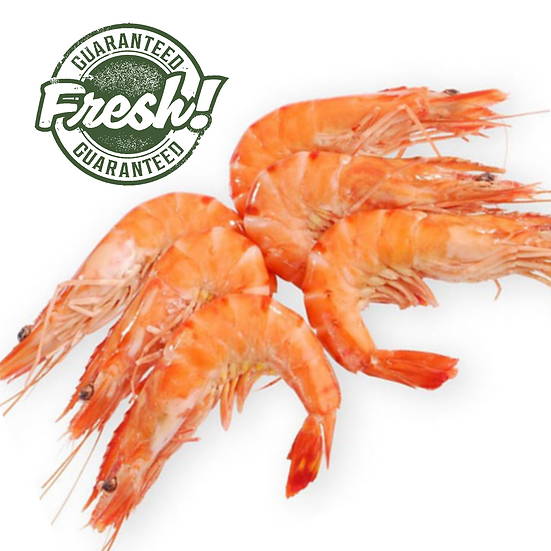Fresh Prawns, 50/60 size - 1 Kg (Gross)