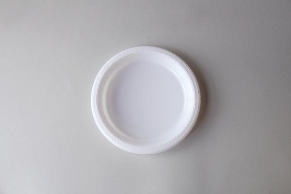 "10"" Disposable White Plate (25 Pc Set)"