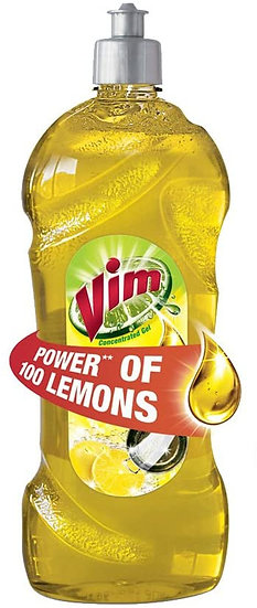 Vim Dishwash Liquid - 750 ml (Lemon)