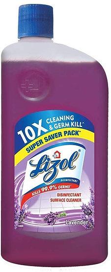 Lizol Disinfectant Surface & Floor Cleaner Liquid, Lavender - 975 ml