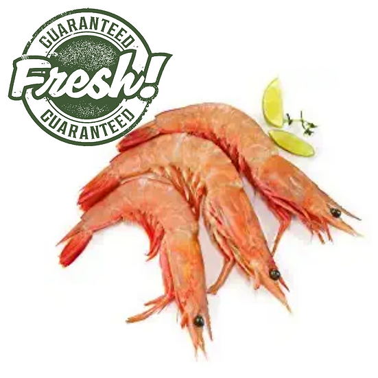 Fresh Prawns, 30/40 size - 1 Kg (Gross)