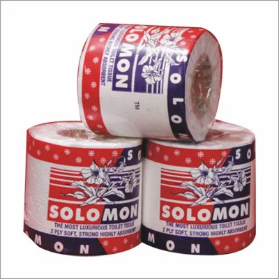 Toilet Rolls Solomon Pack of 4 Pcs