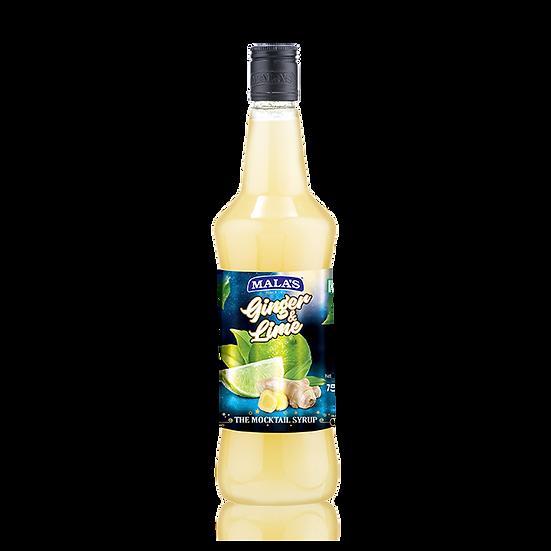 Ginger Lemon Syrup Mala's