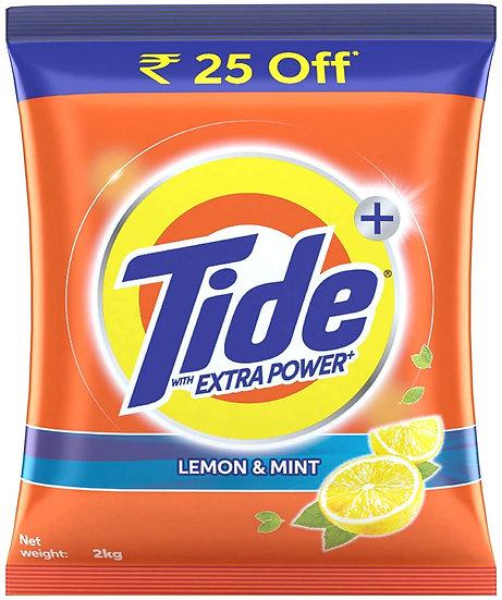 Tide Plus Extra Power Detergent Washing Powder - 2 kg